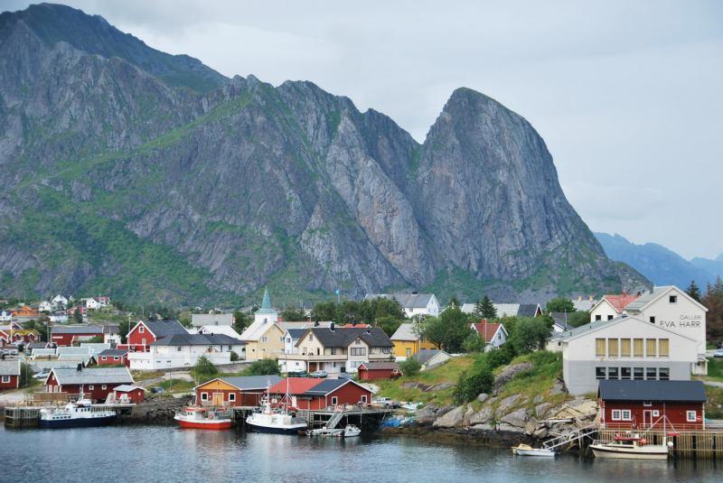Norwegian houses (Lofoten, Norway)