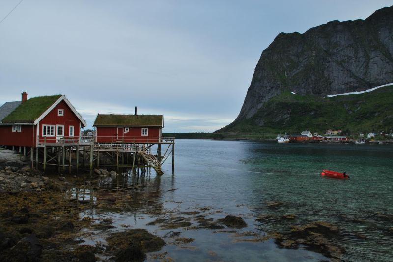 Norwegian view 2 (Lofoten, Norway)