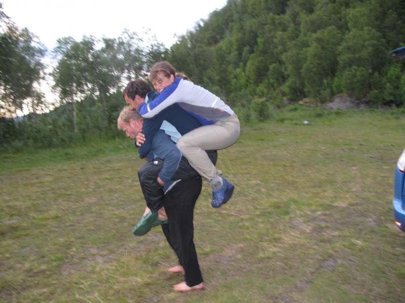 Strong man 1 (Lofoten, Norway)