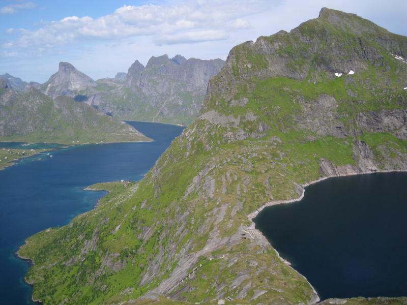 Two lakes (Lofoten, Norway)