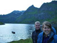 Cris + Em (Lofoten, Norway)