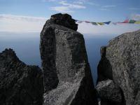 Pray flags (Lofoten, Norway)