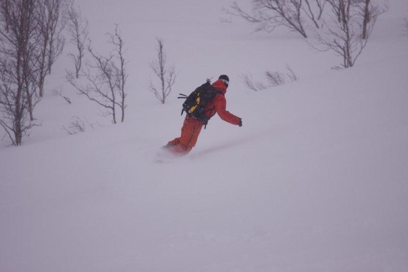 Aly boarding (Tomakdalen, Norway)