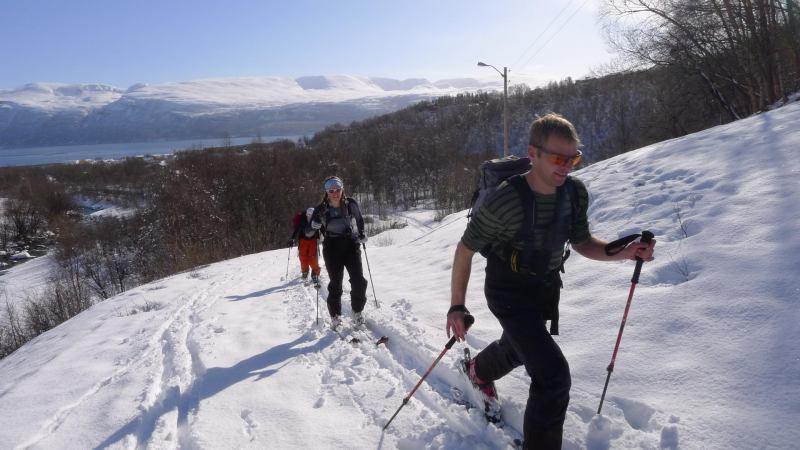 Ascending (Daltinden, Norway)