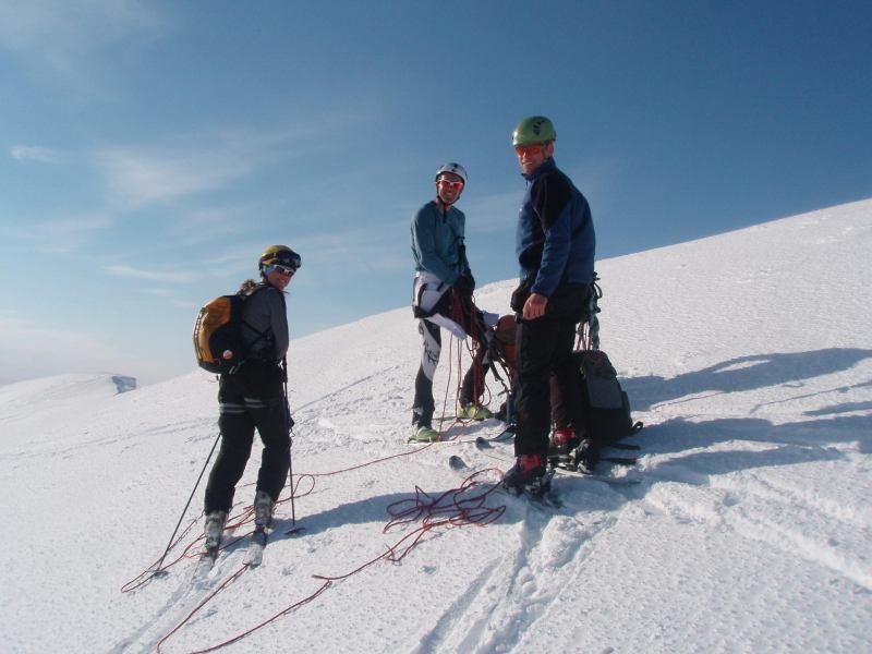 At the summit (Langdalstindane, Norway)