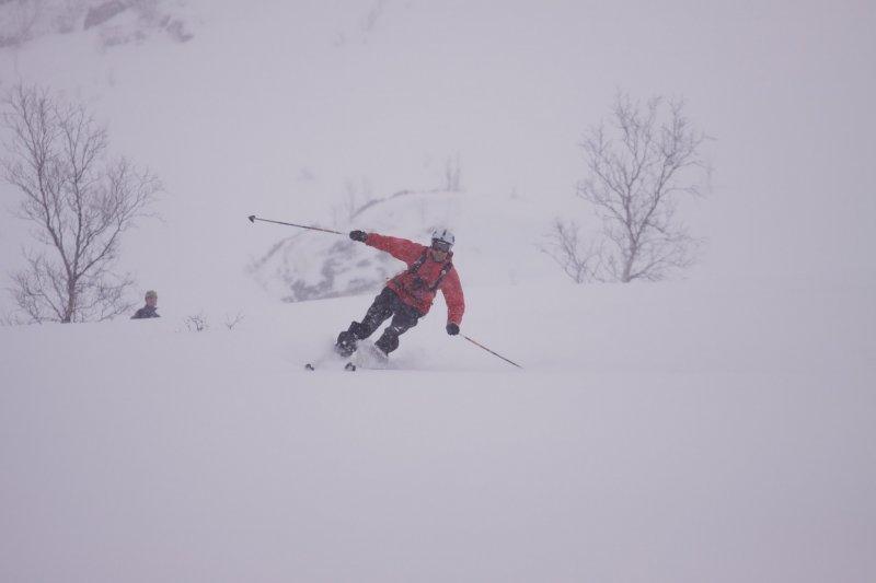 Chris turninig 2 (Tomakdalen, Norway)