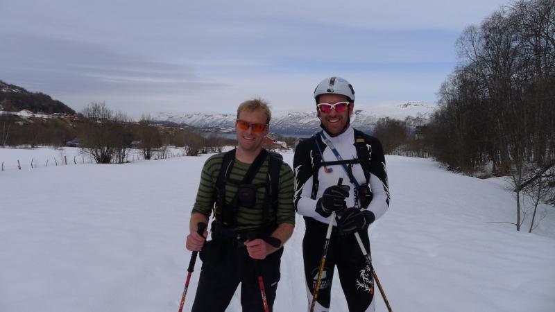 Cris and Chris (Daltinden, Norway)