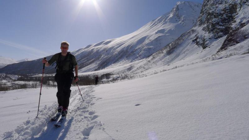 Cris ascending (Daltinden, Norway)
