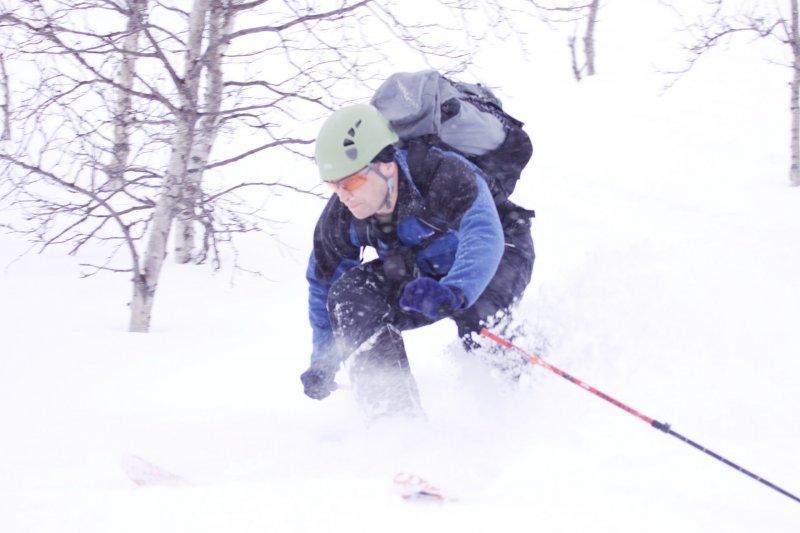 Cris in powder (Tomakdalen, Norway)