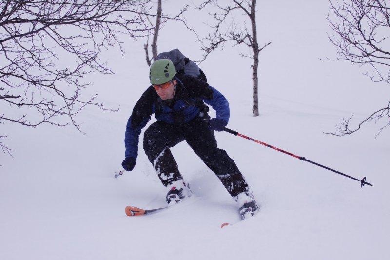 Cris turning (Tomakdalen, Norway)