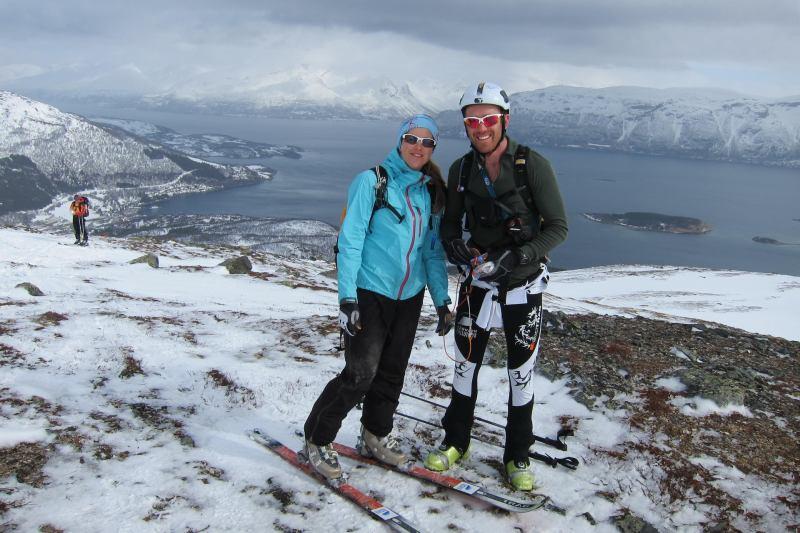 Em and Chris (Rørnestinden, Norway)