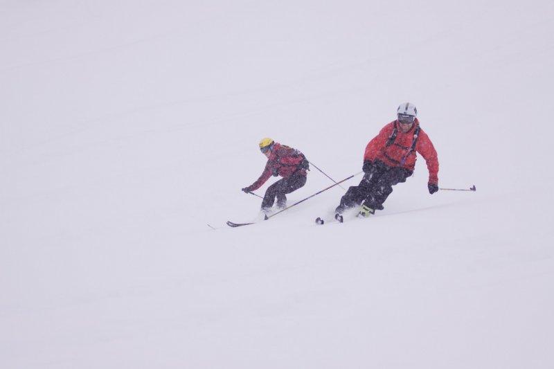 Em and Chris (Tamokdalen, Norway)