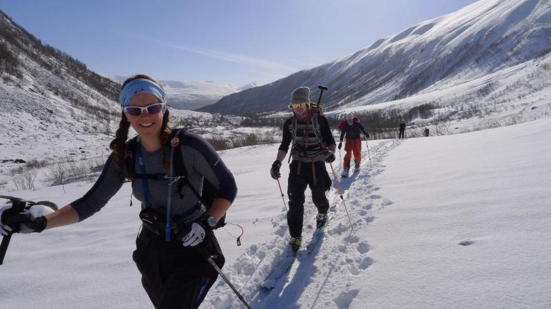 Em, Hallvard, Ally ascending 2 (Daltinden, Norway)