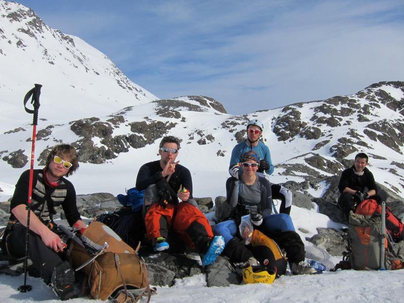 First break (Tafeltinden, Norway)