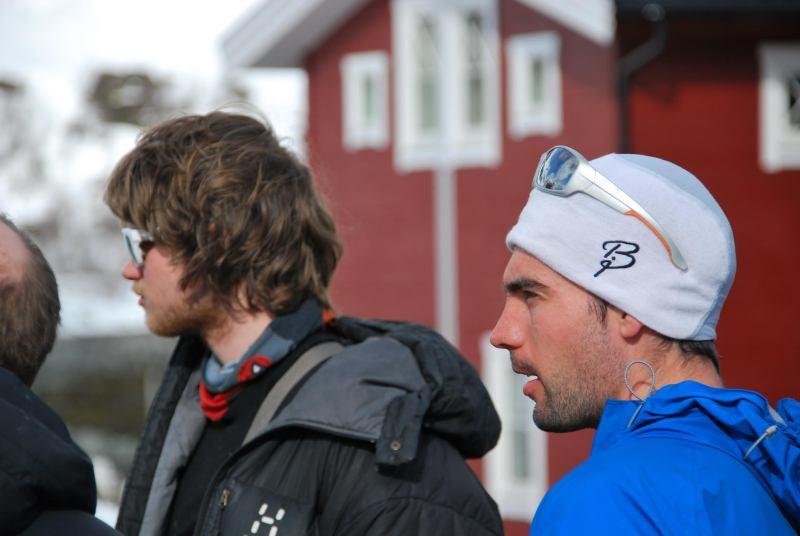 Hallvard and Aly (Lyngen Alps, Norway)