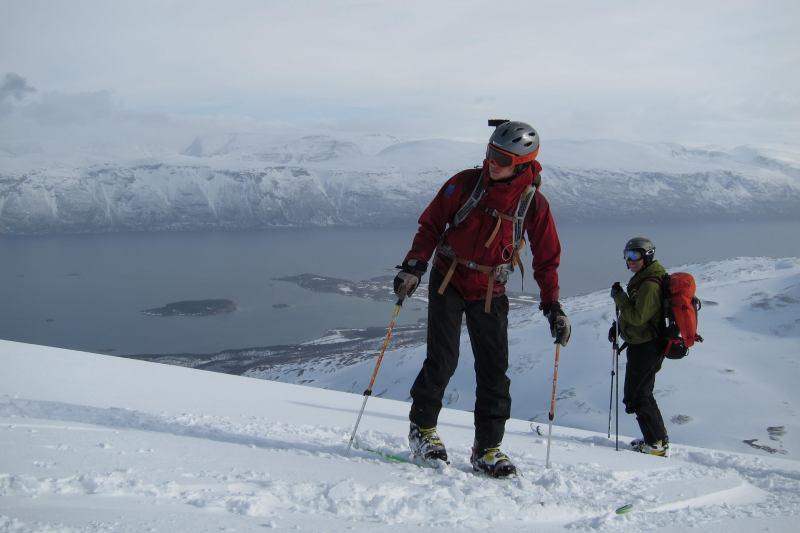 Hallvard and Tim (Rørnestinden, Norway)