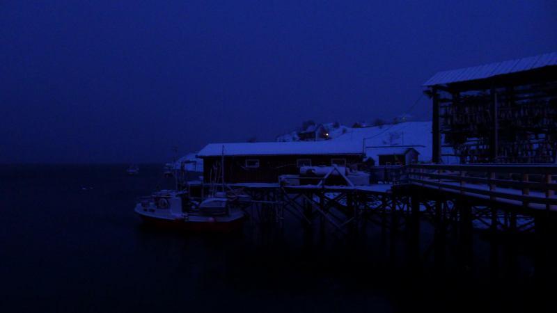 Moody evening in Norway (Lyngen Alps, Norway)