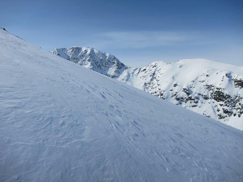 Side of mountain (Daltinden, Norway)