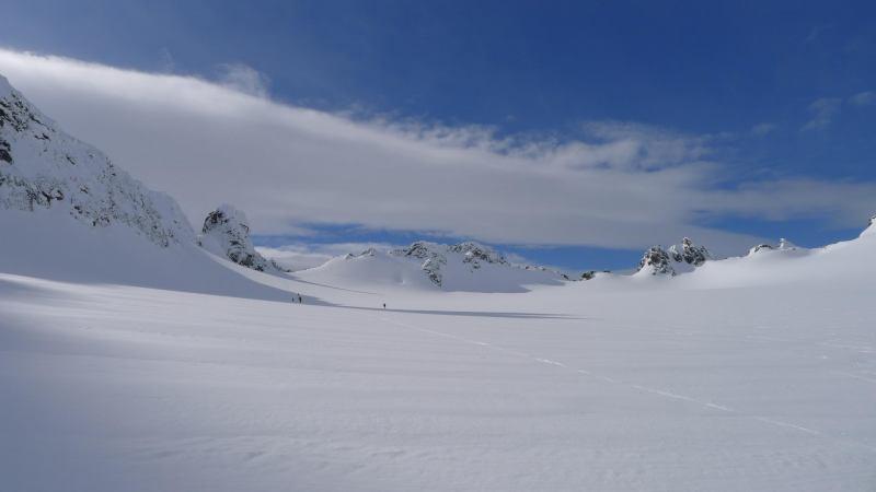 Towards the summit 2 (Tafeltinden, Norway)