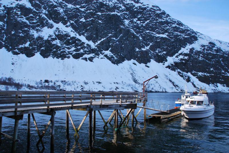 View from our doorstep 2 (Lyngen Alps, Norway)