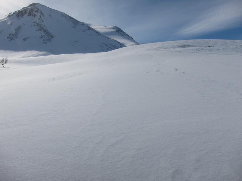 View towards Daltinden (Daltinden, Norway)