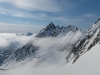 Awesome view near the summit (Langdalstindane, Norway)