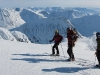 Emily, Hallvard, Tim on the summit (Langdalstindane, Norway)