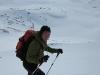 Tim ascending (Rørnestinden, Norway)