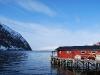 View from our doorstep (Lyngen Alps, Norway)