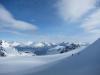 View towards fiords (Tafeltinden, Norway)