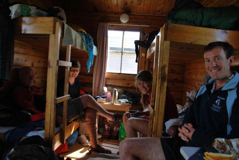 Inside cabin (Midtnattsolgaloppen 2009)