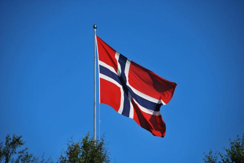 Norwegian flag (Midtnattsolgaloppen 2009)