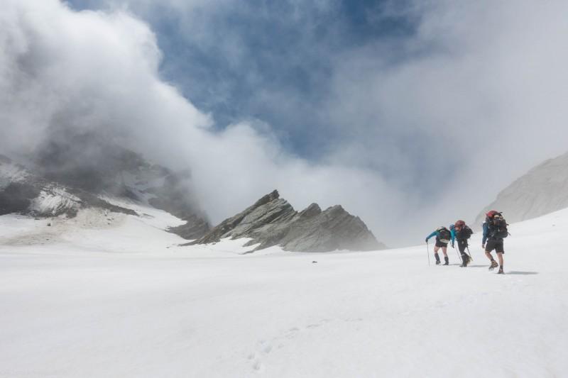 Ascending the Havelock Glacier (Mountain Rafting Dec 2018)