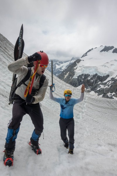 Doing what one must do when mountainerring (Mountain rafting Dec 2018)