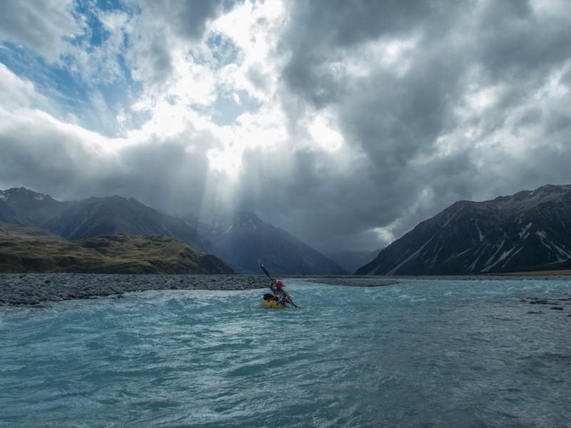 Racing the storm (Mountain rafting Dec 2018)