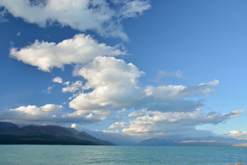 View across Lake Pukaki (Mueller Hut Jan 2014)