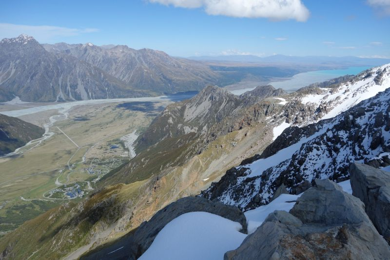 View from Mt Ollivier (Mueller Hut Jan 2014)