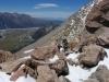 Nearing the ridge (Mueller Hut Jan 2014)