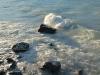 Rocks in the lake(Mueller Hut Jan 2014)