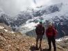William and Cris on the ridge (Mueller Hut Jan 2014)