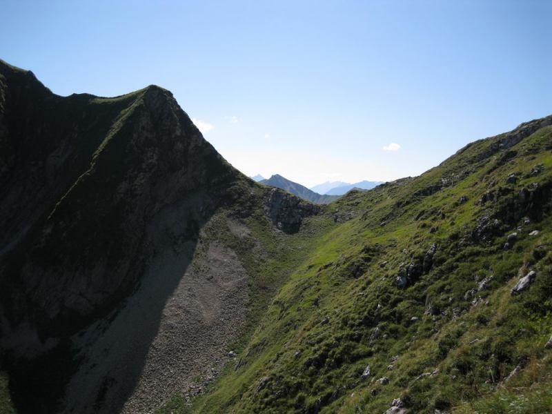 Green grass 2 (Nebelhorn Klettersteig, Germany)