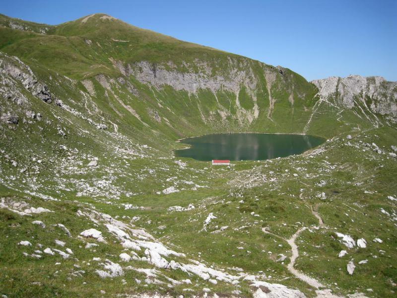 Lake 2 (Nebelhorn Klettersteig, Germany)