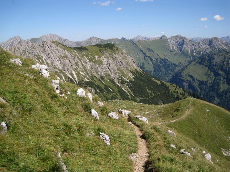Track (Nebelhorn Klettersteig, Germany)