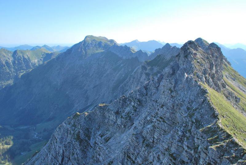 View 1 (Nebelhorn Klettersteig, Germany)
