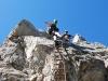 Descending (Nebelhorn Klettersteig, Germany)
