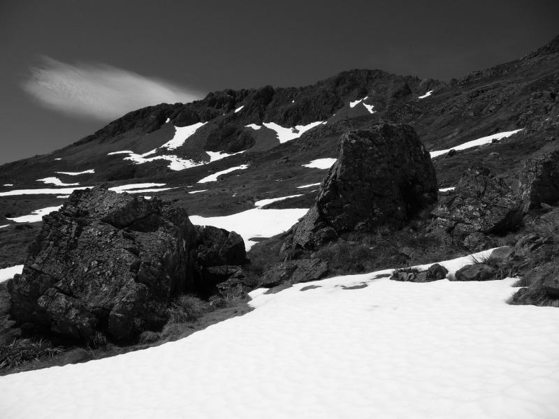 B and W mountains (Lewis Pass Tops)