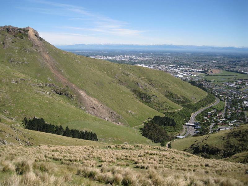 Castle rock all fall down (Christchurch)