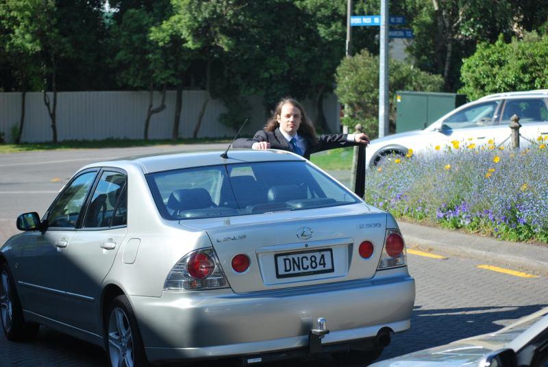 Driver Dave (Simon and Anita's Wedding)