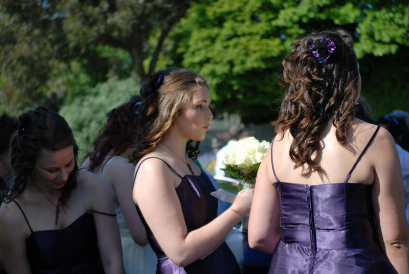 Flower girls (Simon and Anita's Wedding)