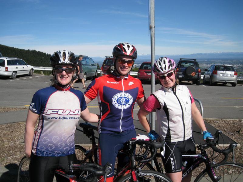 Gina, Cris, and Katie (Port Hills, Christchurch)